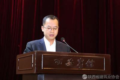 中建八局西北企业总工程师陈俊杰进行经验交流
