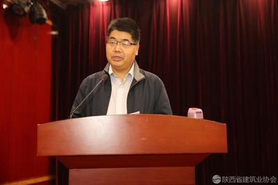 中国水电建设集团十五工程局有限企业质量部主任王星亮交流发言