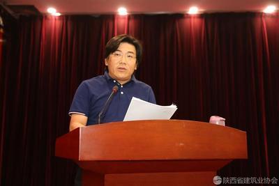 陕西建工第五建设集团副总经理、总工程师梁保真交流发言