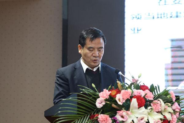 陕西建工集团有限企业党委常委、副总经理薛增建
