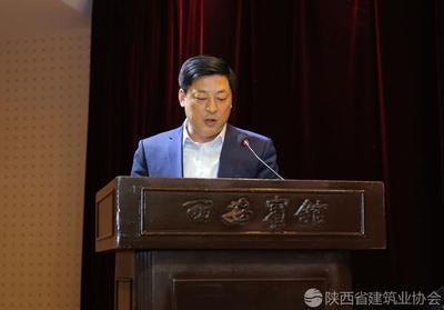 中建七局四企业董事长李俊杰进行经验交流