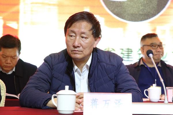 陕西省建筑业协会副会长蒋万泽
