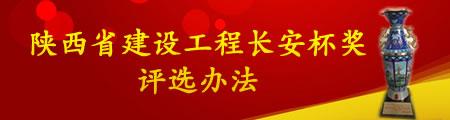 陕西省建设工程长安杯奖评选办法