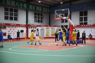 商洛市篮协和汉中市篮协友谊赛